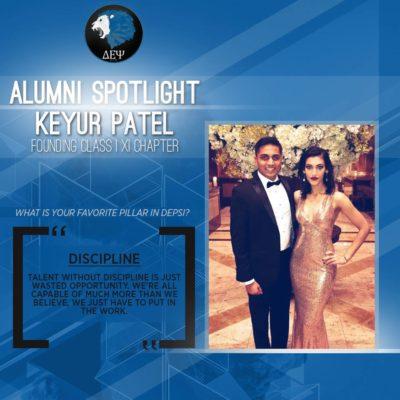 Alumni Spotlight - Keyur Patel